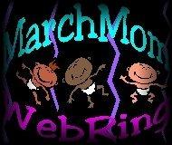 March Mom's & March Dad's WebRing Logo